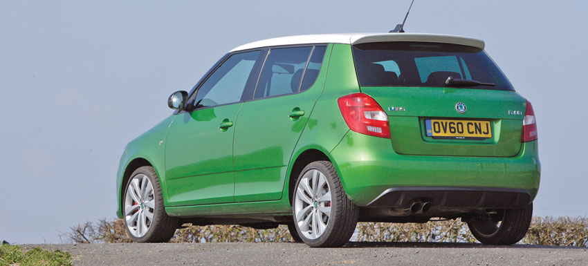 skoda fabia vrs test drive the moment magazine. Black Bedroom Furniture Sets. Home Design Ideas