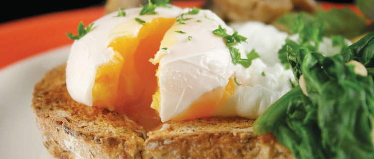 how to make poached eggs vinegar
