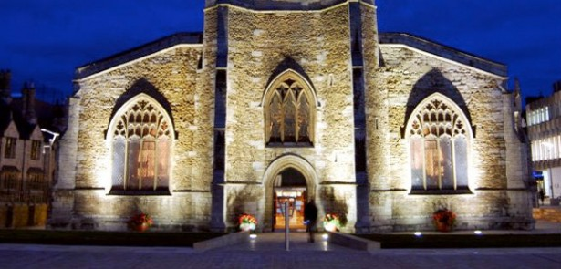 st-johns-church-peterborough-beacon-night