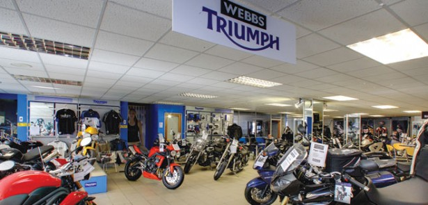 peterborough's triumph | motorcycling gear | the moment magazine