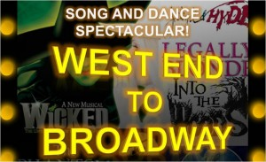 FRrom West End to Broadway poster