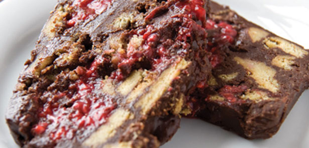Chocolate-Rasberry-cake