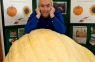 Giant-veg-grower-Clive-Bevan
