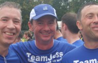 Barney, Ali and Lee, part of TEAMJESS
