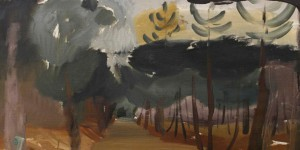 Larchwood Path (slightly cropped) by Ivon Hitchens