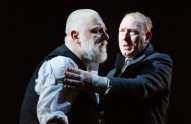Simon Russell-Beale and Adrian Scarborough in the National Theatre's King Lear