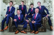The King's Singers are at the Broadway Theatre at 7.30pm on Saturday, 30 May