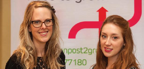 Laura Welham-Halstead and Louise Bellwood ofThe Greater Cambridge Greater PeterboroughEnterprise Partnership