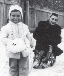 Krystyna's sister Lilian and neice Rega. Both died in Nazi death camps.